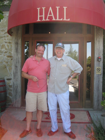 Hall/doug_humes_and_joe_black_hall_decendents_at_hall_vineyard_in_napa_valley_ca_2009.jpg